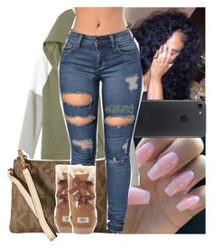 """i bring me x star cast"" by lamamig ❤ liked on Polyvore featuring Victoria's Secret, MICHAEL Michael Kors and UGG Australia"
