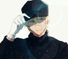 Case Closed Anime, Detective Conan Wallpapers, Kaito Kid, Amuro Tooru, Detektif Conan, Magic Kaito, Hot Anime Guys, Handsome Anime, Anime Art