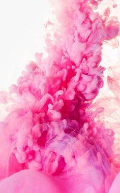 Imagem de pink, wallpaper, and smoke