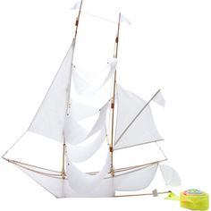 Go Fly A Boat? HAPTIC LAB Sailing Ship Kite Fathers Day Outdoors Kids Toys Park Backyard Games Gadgets barneys.com