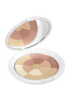 POLVOS MOSAICO ILUMINADORES Fija el maquillaje. Matifica la piel. Colorete. Sombra de ojos. Ilumina el rostro. - Oil-free -
