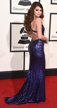 Grammys 2016: Better From the Back | People - Selena Gomez in Calvin Klein Collection