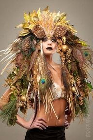 Mother nature headdress