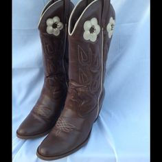 """Selling this """"Candie's Cowboy Boots"""" in my Poshmark closet! My username is: debra4261. #shopmycloset #poshmark #fashion #shopping #style #forsale #Candie's #Boots"""