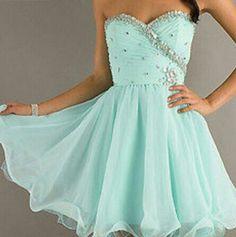 Tiffany Blue Cocktail Dresses