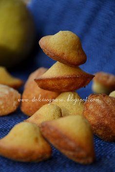 DOLCISOGNARE: Madeleines al limone e caramello