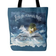 Carry your books in this tote bag especially designed for your books! 18 x 18…