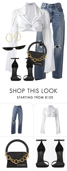 """Untitled #3847"" by xirix ❤ liked on Polyvore featuring Levi's, Amir Slama, Jacquemus, Yves Saint Laurent and Isabel Marant"