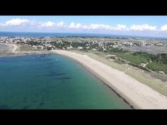 Noirmoutier: Barbâtre, La Guérinière(Vendée, Atlantic ocean coast in France by drone) 1/2 - YouTube