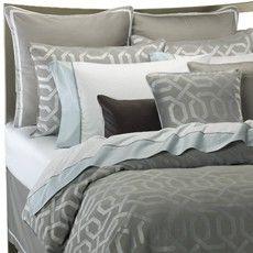 Gray Bedding and comforter