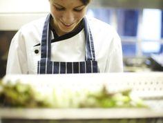 Asparagus preparation in the kitchen at #thegreathouse