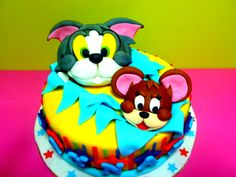 186 Best Cakes Tom Amp Jerry Images In 2019 Tom Jerry