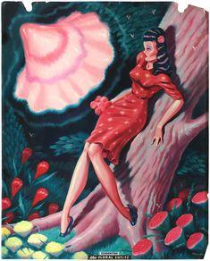 Ryan Heshka - The Floral Entity