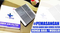 Tutorial Pemasangan Filter Kabin Dan tutup Cover Filter Honda Brio / Mob...