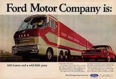 """Very different approach for Ford in 1965,using the title, """"Ford Motor Company is:"""""""