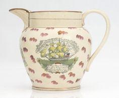 Antiques Genteel Antique Victorian 19th Century Ceramic Tile England