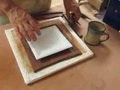 Hand Building Square Plates - YouTube