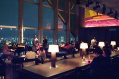 Park Hyatt Hotel - Tokyo (Bar to go to!).  Where they filmed Lost in Translation