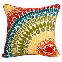 Rainbow Pillow - stunning!