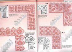 crochet magazine one Filet Crochet, Crochet Diagram, Crochet Dollies, Crochet Lace, Beading Patterns, Crochet Patterns, Crochet Boarders, Crochet Magazine, Knitting Charts