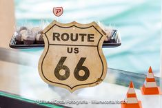 Route 66 Sign from a