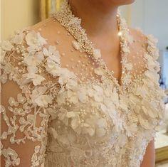 My Perfect Doctor - Tujuh Belas - Wattpad Kebaya Lace, Kebaya Dress, Batik Kebaya, Kebaya Wedding, Wedding Gowns, Bridal Dresses, Girls Dresses, Bridesmaid Dresses, Indonesian Wedding