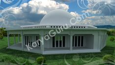 Pradesain Masjid Al-Qalam 3d, Mansions, House Styles, Home Decor, Decoration Home, Manor Houses, Room Decor, Villas, Mansion