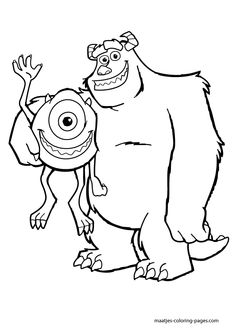 find this pin and more on kids coloring pages monsters