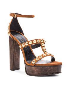 ad858ffe836d Suede Rhys Platform Sandals Suede Leather Shoes
