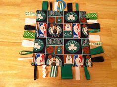 Baby Boys Boston Celtics Taggie Blankie with by SarahJoyceDesigns, $8.00