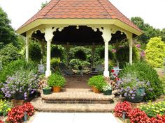 garden at Salisbury, NC