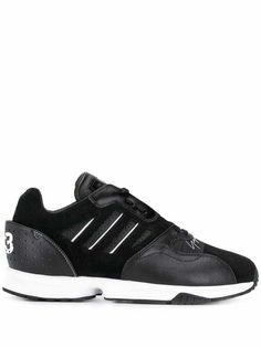 ZX Run sneakers - Black White Leather, Suede Leather, Adidas Originals Zx Flux, Adidas Sneakers, Shoes Sneakers, Sportswear Brand, Innovation Design, Leather Sneakers, Navy And White