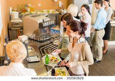 Self service cafeteria