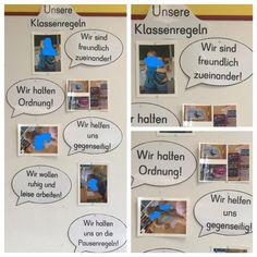 Unsere Klassenregeln - Die Regeln haben wir gemeinsam gesammelt und anschließend…