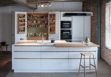 Jack Trench Ltd - Bespoke Kitchens & Bespoke Cabinet Makers in London Kitchen Splashback Tiles, Kitchen Countertops, Kitchen Cabinets, Kitchen Tops, Kitchen Shelves, Bespoke Kitchens, Farmhouse Style Kitchen, Cabinet Makers, Kitchen Furniture