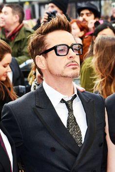 RDJ in London Iron Man 3 Premiere April 2013