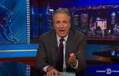 "Jon Stewart opened last night's ""Daily Show"" with a raw, heartfelt monologue about the Eric Garner decision."