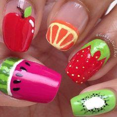 Tutti Fruity Nails