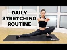 Full Body Stretching Exercises | Flexibility Workout | Class FitSugar - YouTube