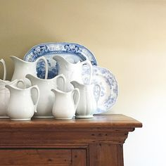 Ironstone and transferware