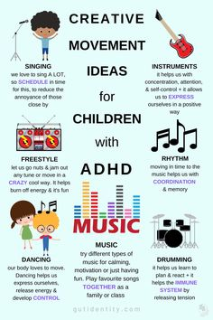 Kindergarten Goals, Adhd Facts, Things That Go Together, Calming The Storm, Music And Movement, Adhd Kids, Self Control, Getting Things Done, Life Skills