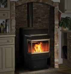 napoleon blue enamel wood stove | Fireplace Village | Napoleon Wood Stoves, Gas Stoves and Pellet Stoves