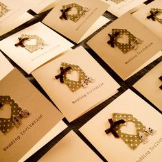 Handmade Wedding Invitations by Stables Home and Garden