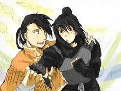 lan fan and ling yao. alright these two might just be my fma otp