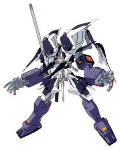 The RX-124 Gundam TR-6 [Woundwort] Gigantic Form is a variant of the TR-6 Woundwort series produced by the Titans Test Team. The unit appears in the Advance of Zeta: The Flag of Titans novel.