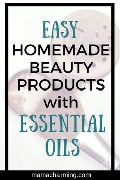 Learn how to make beauty products with just a few ingredients. These simple homemade beauty products will have your skin glowing from the inside out! Daily Beauty Tips, Make Beauty, Beauty Secrets, Homemade Beauty Recipes, Homemade Beauty Products, Beauty Hacks For Teens, Natural Skin Care, Natural Beauty, Organic Beauty