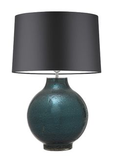 Pigalle Ocean Large   The Pigalle Collection is available in three glass colours; Smoke, Chartreuse and Ocean. Blown glass pieces using gold and silver volcanic frits between multiple layers of glass and mirrored on the inside to create a luxurious textured finish
