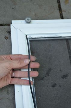 Dover Projects How to replace the screen in a sliding screen door