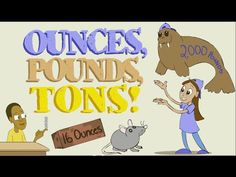 Ounces (oz), Pounds (lbs), and Tons Song: Weights and Measurements For Kids
