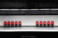 Prints available starting at $40. Architecture photography, Colorsplash, Symmetry, Joliette metro, Montreal, Quebec. 2013.